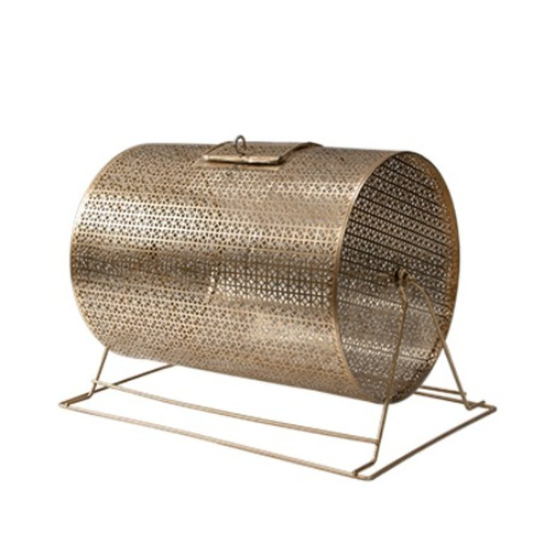 each brass raffle ticket drum features sturdy metal legs locking cage door easygrip drum turning handle sixinch ticket insertion slot to accommodate