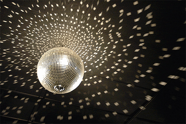 Great Get Down And Boogie, You Disco Animal! This Mirror Tile Covered Disco  Mirror Ball Transforms Your Party Space Into An Instant Dance Floor Where  You Can ... Amazing Ideas